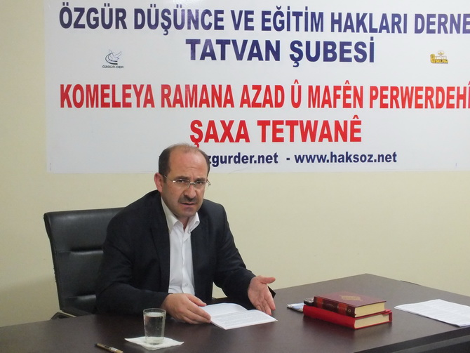 Tatvan'da ''Kur'an'ı Anlamada Yöntem'' Semineri