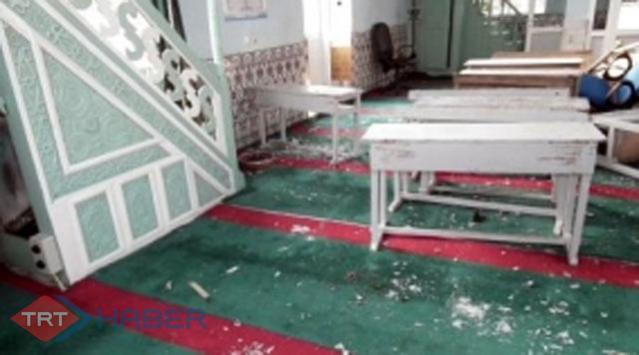 Fransa'da Camiye Irkçı Saldırı