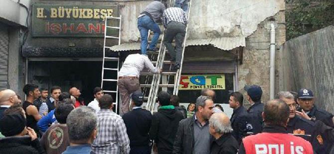 Gaziantep'te İş Hanında Yangın Faciası