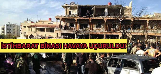 Nusra, İstihbarat Binasını Havaya Uçurdu!