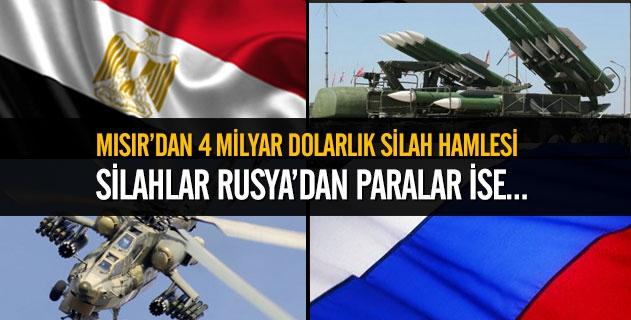 Sisi'ye Silahlar Rusya'dan, Parası Körfezden