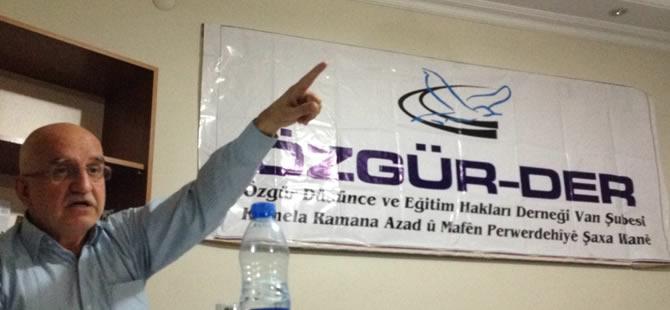 """Van'da """"İslami Mücadelenin Yeni Dili"""" Semineri Yapıldı"""