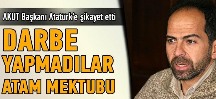 Nasuh Mahruki, Subayları Atatürk'e Şikayet Etti