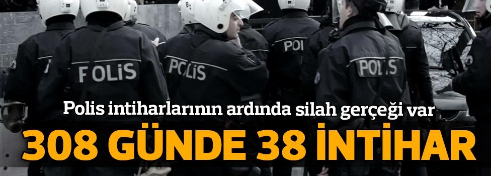 308 Günde 38 Polis İntihar Etti