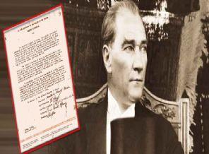 Atatürk'ün Amerikan Mandacılığını İstediği Mektup Bulundu
