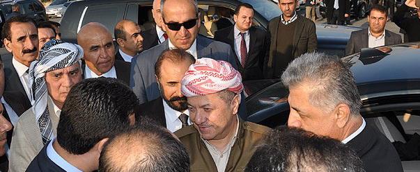 Barzani ile PYD Güçleri Arasında Gerginlik