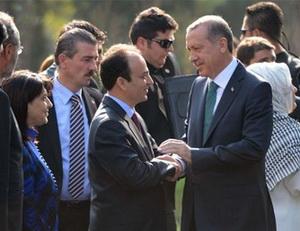 Başbakan Erdoğan Diyarbakır Belediyesinde