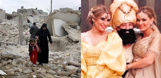 Şam'ın Elitleri Vur Patlasın Çal Oynasın!