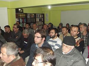 Sivas'ta Fıtrat ve Vahiy Uyumu Konulu Seminer Yapıldı