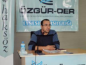 Eynesil'de Kuran'da Resuller ve Hz. Muhammed Konuşuldu