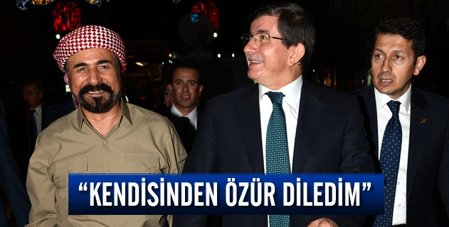 """Ahmet Davutoğlu: """"Şivan Perver'den Özür Diledim"""""""
