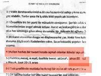 """""""Cemaat""""in Sosyal Medyaya Yansıyan Şer Belgesi"""