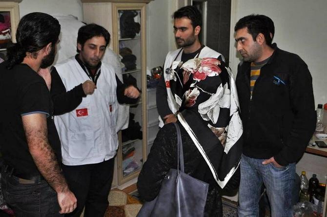 AID'ten Suriyeli Mültecilere Sağlık Taraması