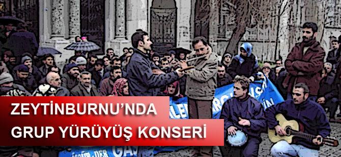 Zeytinburnu'nda Grup Yürüyüş Konseri