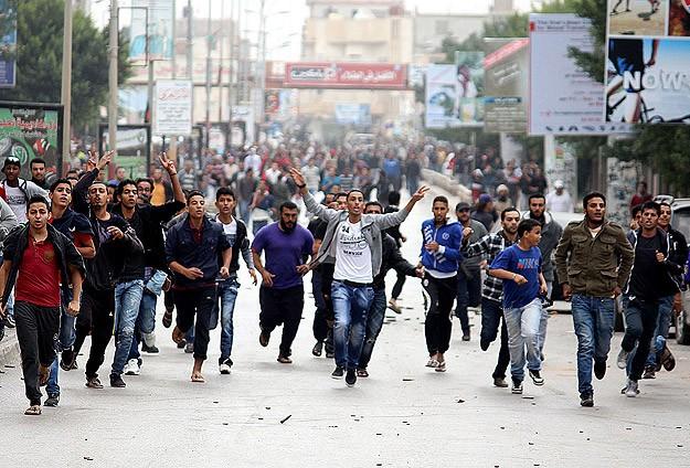 Bingazi'de 3 Günlük Sivil İsyan Kararı