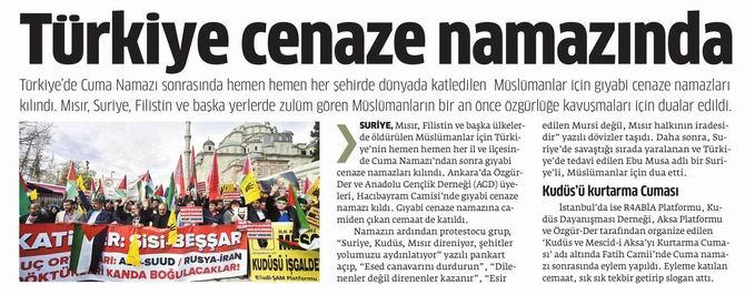 Türkiye Cenaze Namazında