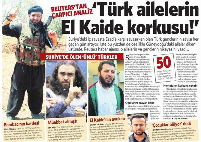 Türk Ailelerin El Kaide Korkusu