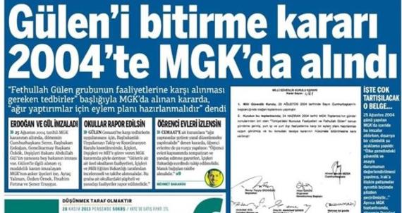 """""""Gülen'i Bitirme Planı""""na İlk Açıklama"""
