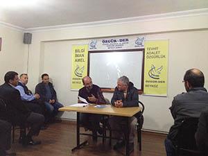 Beykoz'da Suriyeli Müslümanların Geleceği Konuşuldu