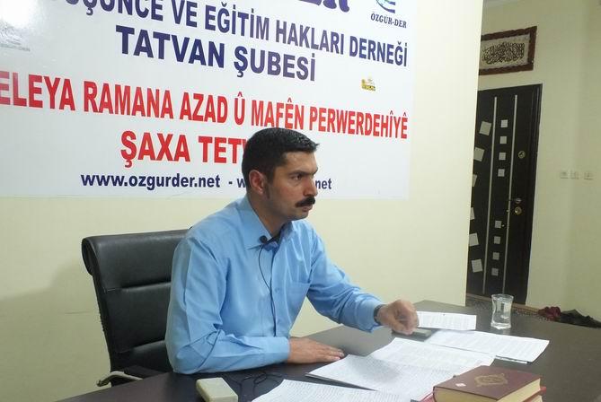 Tatvan Özgür-Der'de' 'Kur'an'da İbadet'' Semineri Yapıldı