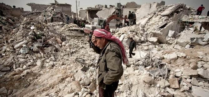 Halep'te Birçok Yer Yine Bombalandı: 65 Şehit
