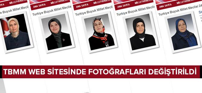 Beş Milletvekilinin TBMM Fotoğrafı Değiştirildi