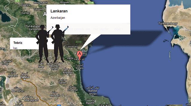 Azerbaycan İran Sınırında Çatışma