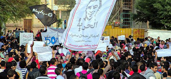 """Mısır'da """"Sabah 7 Hareketi""""ne Destek Protestosu"""