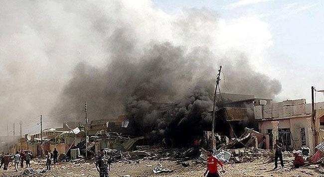 Irak'ta 7 Ayrı Canlı Bomba Saldırısı