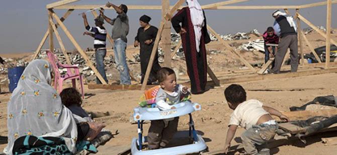 Bedeviye Göç, Yahudiye Yerleşim