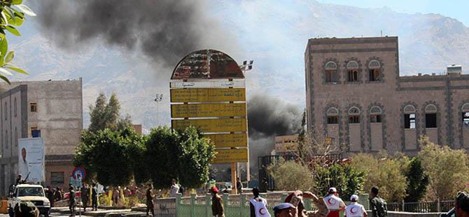 Yemen Savunma Bakanlığında Patlama