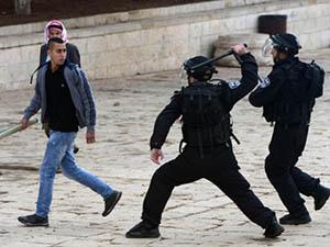 İsrail Mescid-i Aksa Çevresini Kışlaya Çevirdi