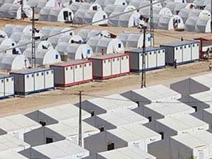 Antep'te Suriyeliler İçin 25 Bin Kişilik Kamp