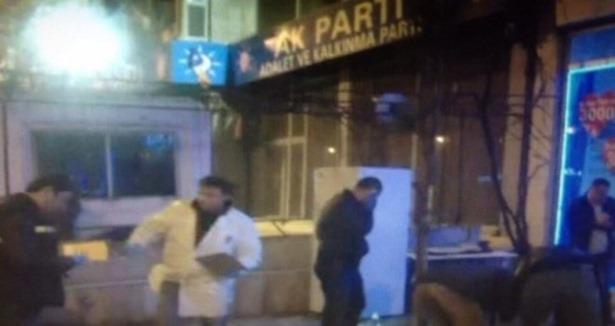 Aday Tanıtımı Öncesi İl Binasına Saldırı