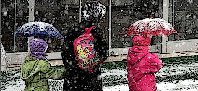 Kar Yağışı Etkili Oldu, 7 İlde Eğitime Ara Verildi