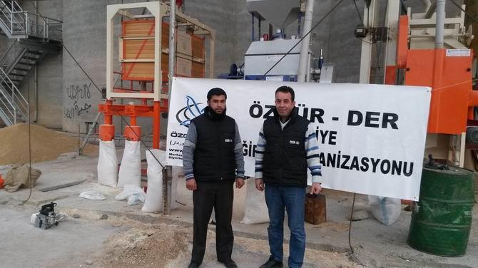Özgür-Der, Rakka ve İdlip'te İki Değirmen Açtı