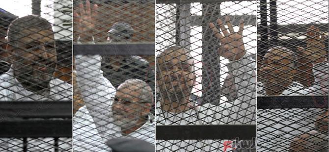 Mısır'da Darbe Karşıtları Mahkemeye Sevkedildi
