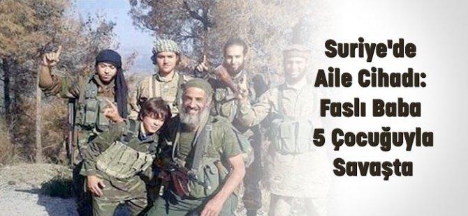 Suriye'de Aile Cihadı: 5 Çocuğuyla Savaşta