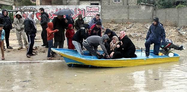 Gazze'de 5 Binden Fazla Kişi Evsiz Kaldı