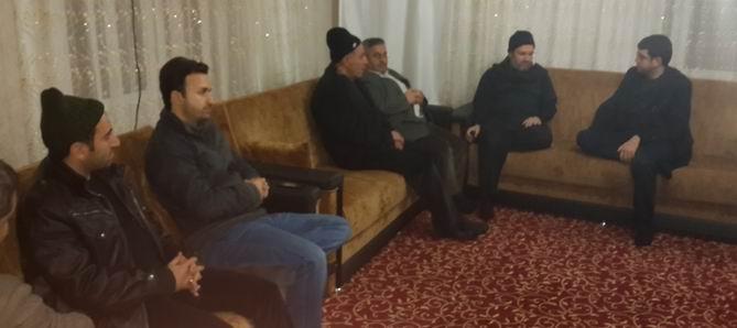 Özgür-Der'den Mushaf-Der'e Geçmiş Olsun Ziyareti