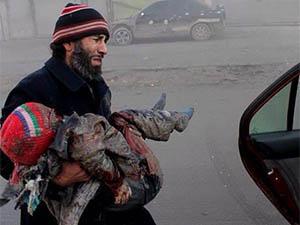 Halep'te 9 Günde 512 Kişi Öldü (VİDEO)