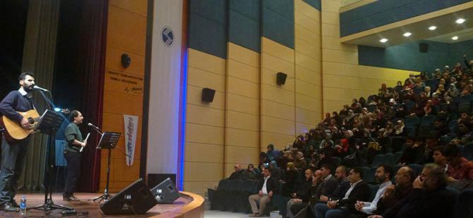 Sakarya Üniversitesi'nde Mısır ve Suriye Gecesi
