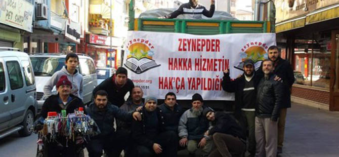 Zeynep-Der Suriye Yardımları Yola Çıktı