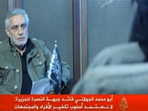 Nusra Lideri Colani'nin Açıklamalarından Detaylar