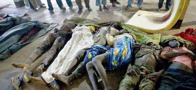 Orta Afrika'da Müslüman Katliamı Sürüyor
