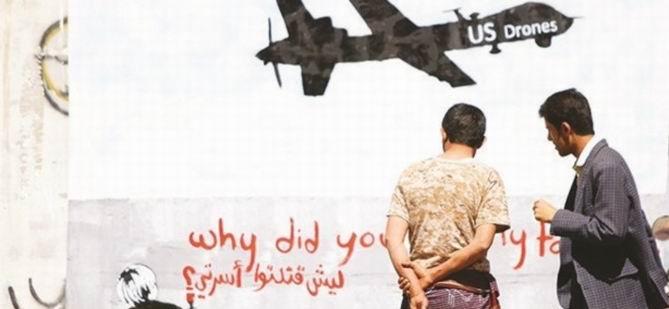 Katliamların Nedeni ABD'nin 'İHA Testi'
