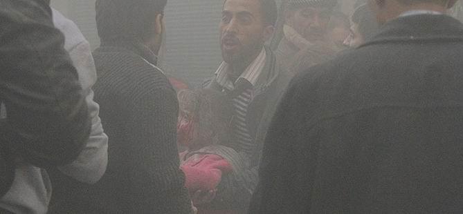 Esed Karadan ve Havadan Dehşet Saçtı, 96 Ölü