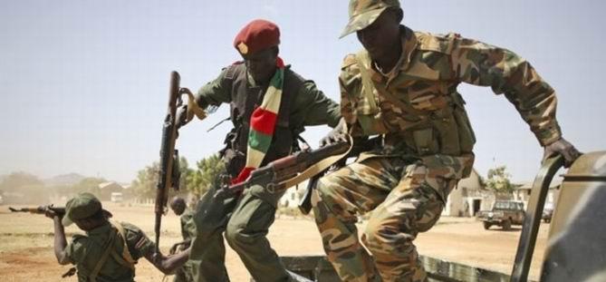İsyancılar Güney Sudan'da İlerliyor