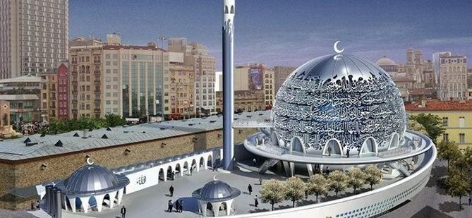 Taksim'deki Cami Projesi İptal!