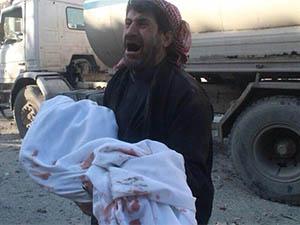 """Halep'te Ölüm Ya Soğuktan Ya """"Varil Terörü""""nden!"""